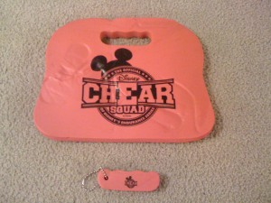 ChEAR Squad Seat Cushion & Keychain Fob